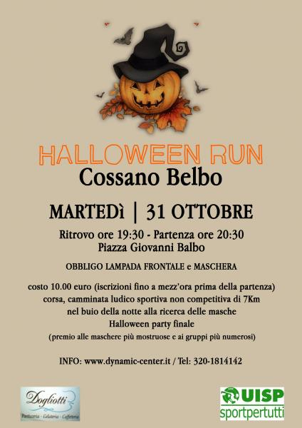 Halloween run del moscato by night